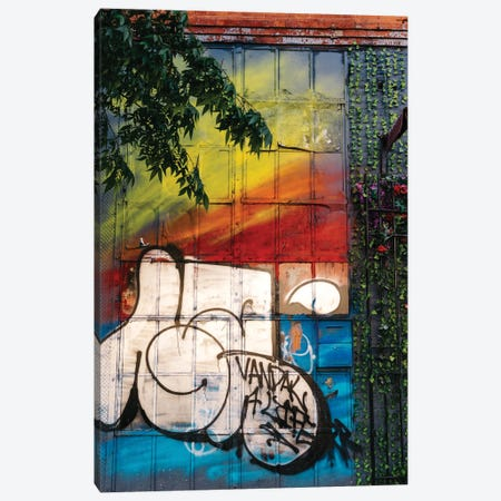 East Village Street Art VI Canvas Print #BTY1330} by Bethany Young Canvas Art Print