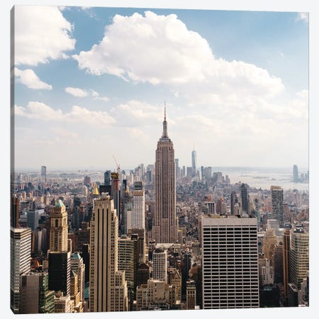 Manhattan View II Canvas Print #BTY1336} by Bethany Young Canvas Art