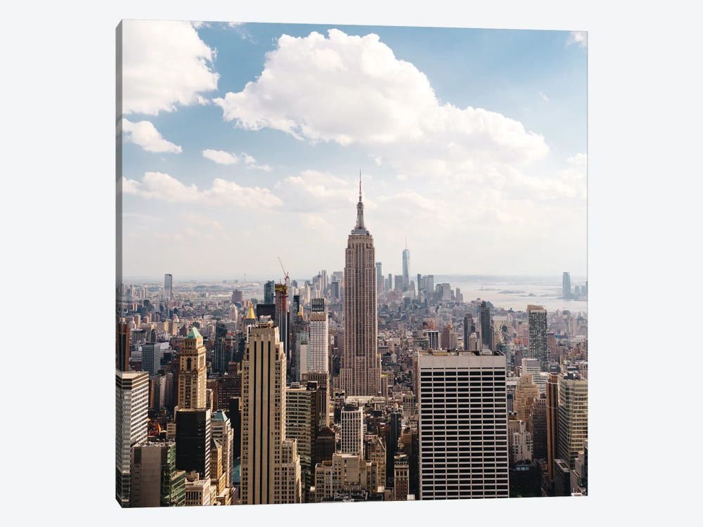 Manhattan View II by Bethany Young 1-piece Canvas Art