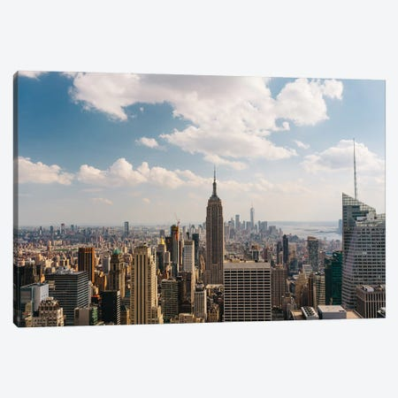 Manhattan View Canvas Print #BTY1338} by Bethany Young Canvas Print