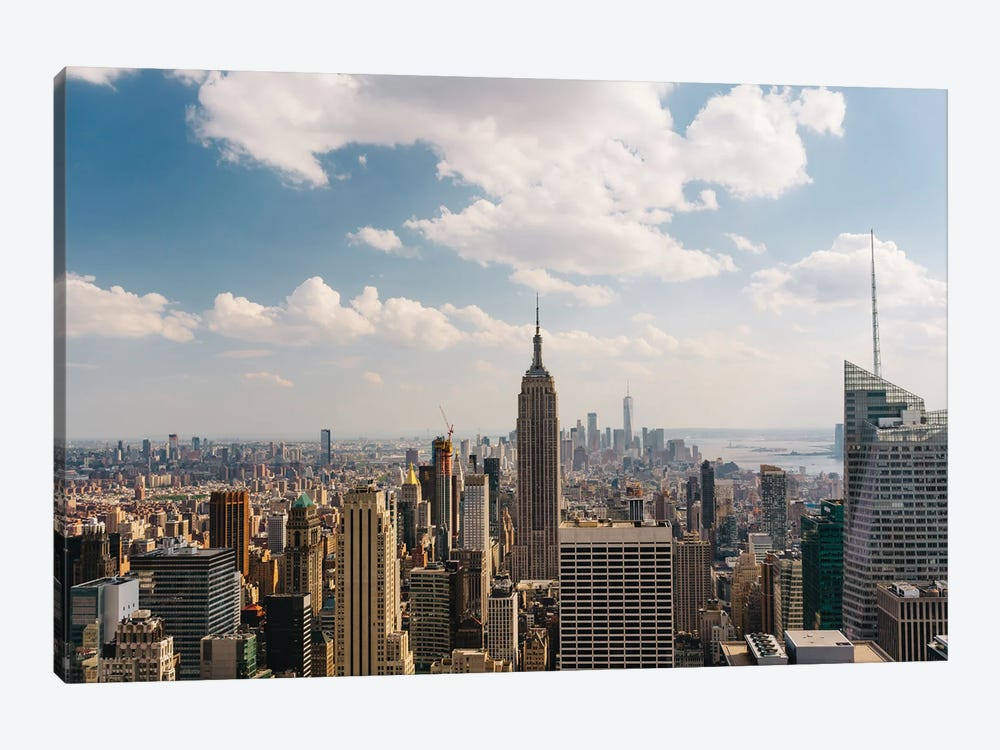Manhattan View by Bethany Young 1-piece Canvas Wall Art
