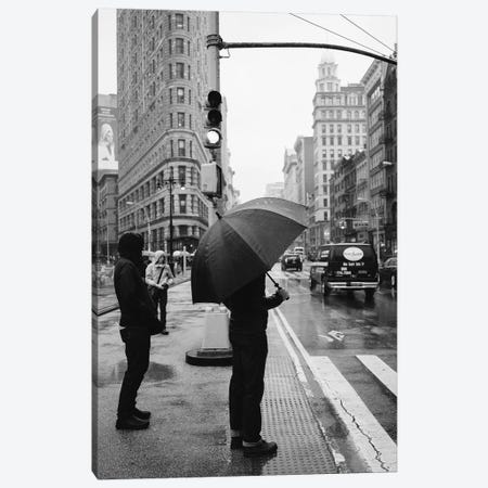 Rainy New York IV Canvas Print #BTY133} by Bethany Young Canvas Print