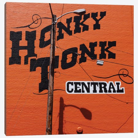 Nashville Honky Tonk Canvas Print #BTY1348} by Bethany Young Canvas Wall Art