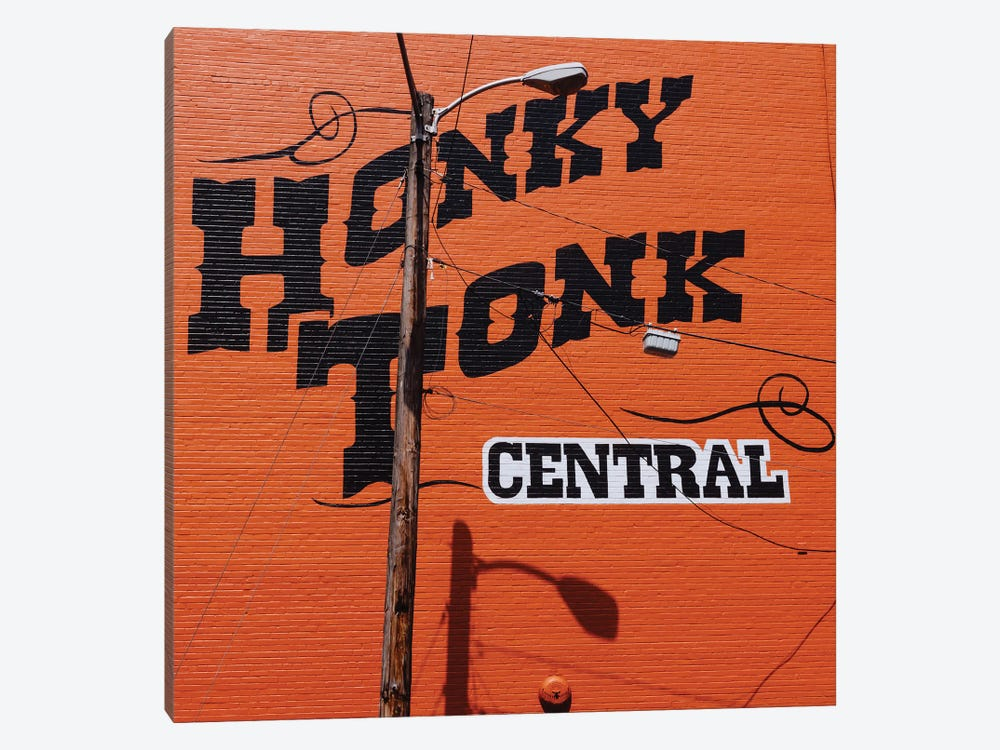 Nashville Honky Tonk by Bethany Young 1-piece Canvas Print