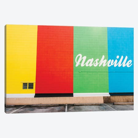 Nashville Street Art V Canvas Print #BTY1352} by Bethany Young Art Print
