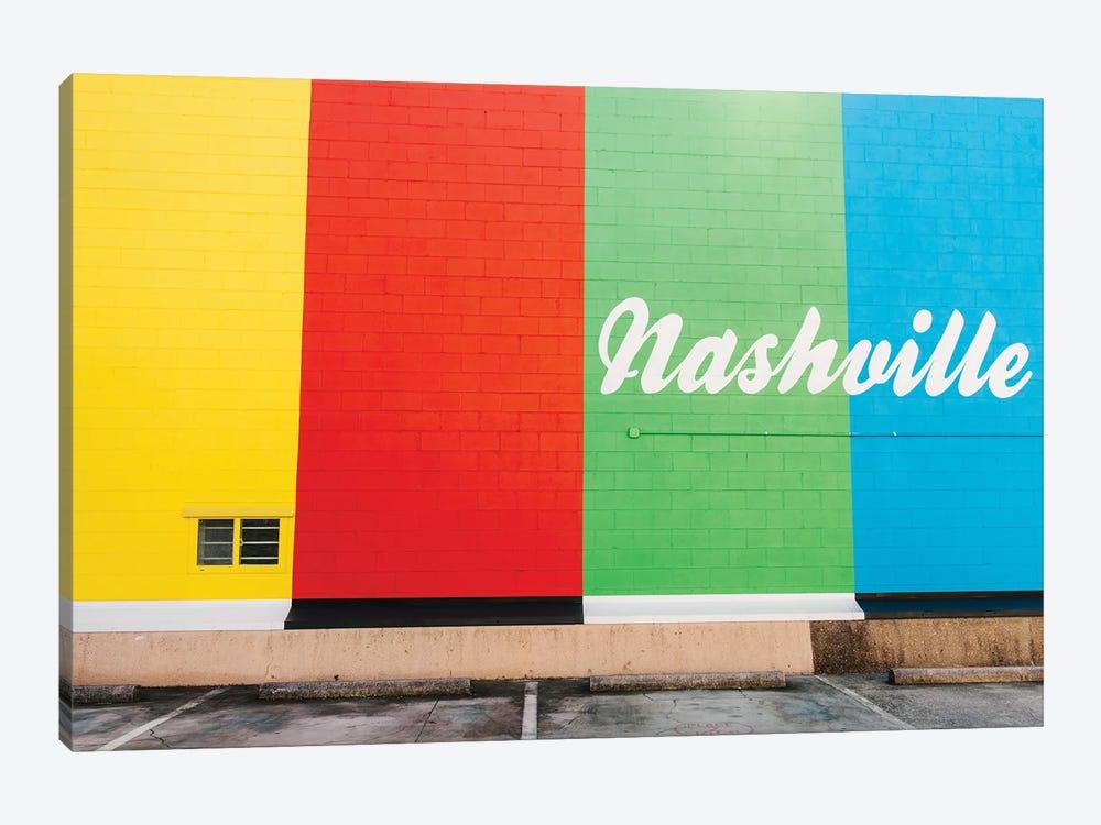 Nashville Street Art V by Bethany Young 1-piece Canvas Art