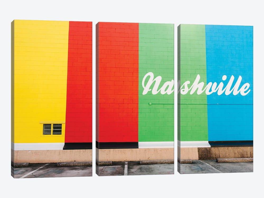Nashville Street Art V by Bethany Young 3-piece Canvas Art