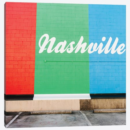 Nashville Street Art VI Canvas Print #BTY1353} by Bethany Young Art Print