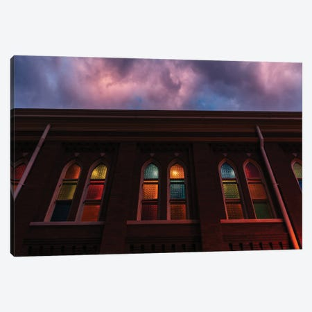 Sunset at the Ryman Canvas Print #BTY1356} by Bethany Young Canvas Art