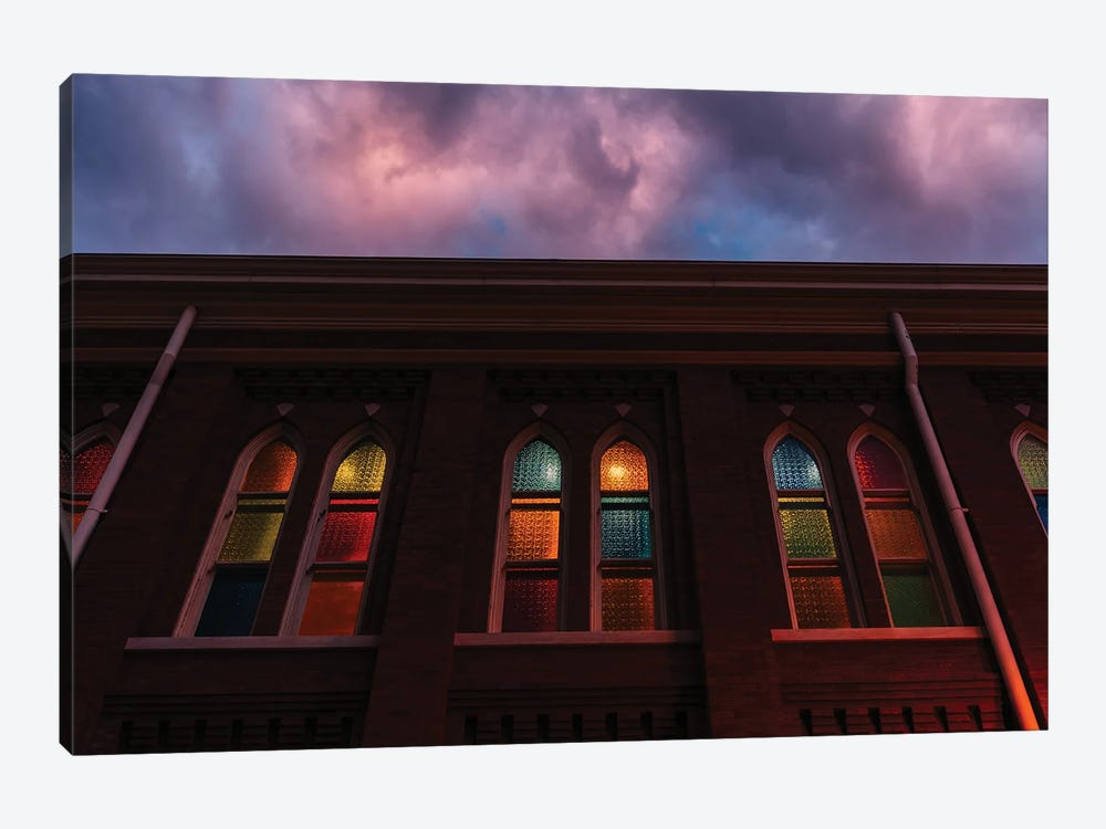 Sunset at the Ryman by Bethany Young 1-piece Canvas Art