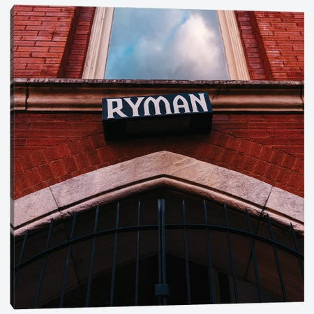 The Ryman Canvas Print #BTY1357} by Bethany Young Canvas Wall Art