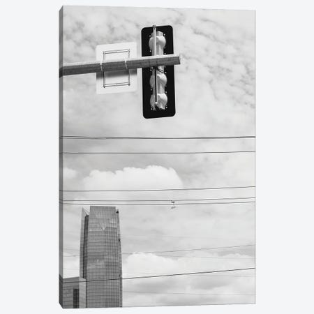 Downtown Okc Canvas Print #BTY1382} by Bethany Young Canvas Artwork