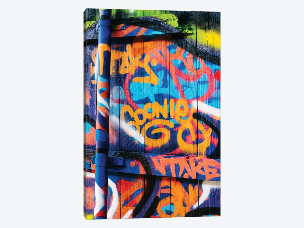 Goonies Graffiti by Bethany Young 1-piece Canvas Print