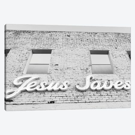Jesus Saves II Canvas Print #BTY1388} by Bethany Young Canvas Art