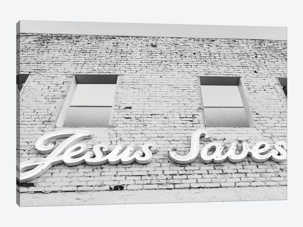 Jesus Saves II by Bethany Young 1-piece Canvas Print