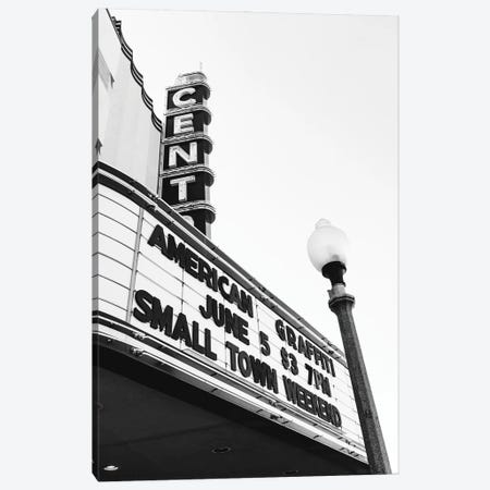 Small Town Theater Canvas Print #BTY1393} by Bethany Young Canvas Art Print