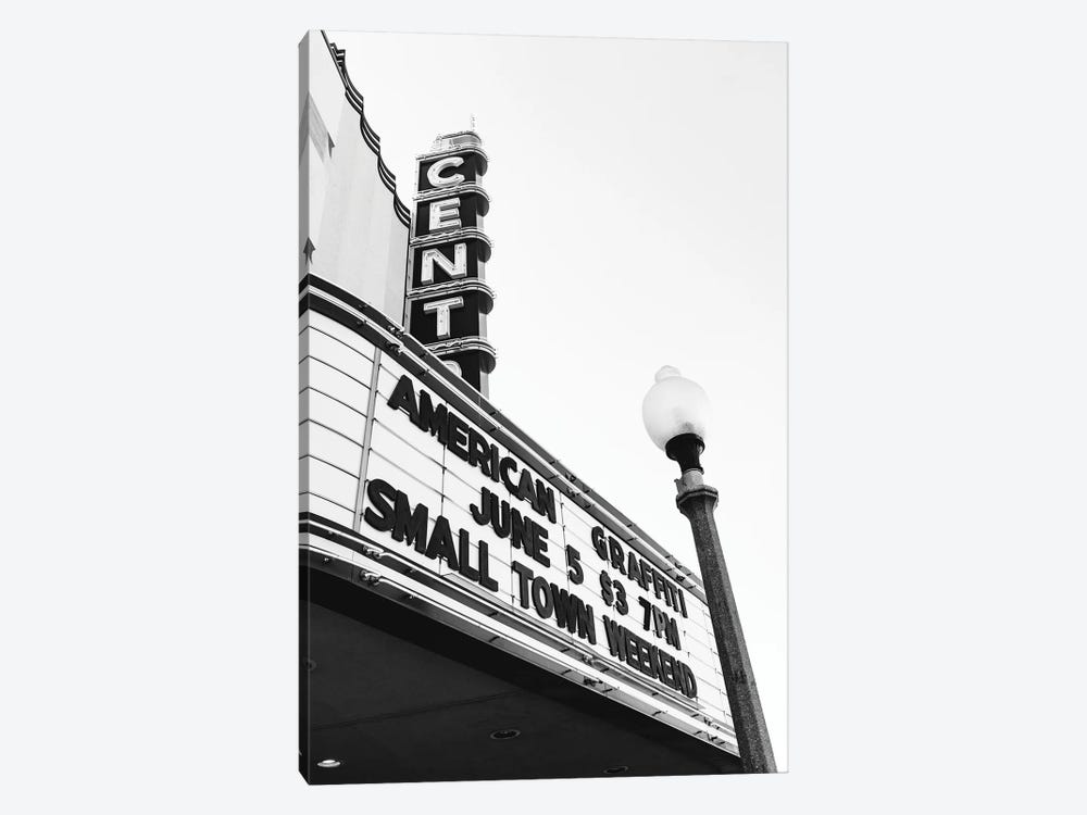 Small Town Theater by Bethany Young 1-piece Art Print