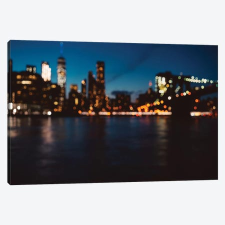 New York Out of Focus Canvas Print #BTY139} by Bethany Young Canvas Art Print