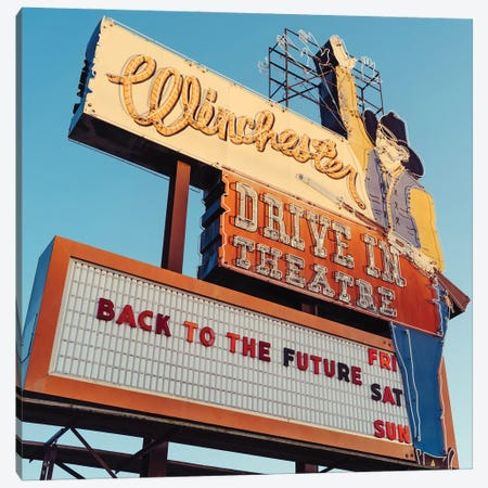 Winchester Drive In Canvas Print #BTY1412} by Bethany Young Canvas Artwork