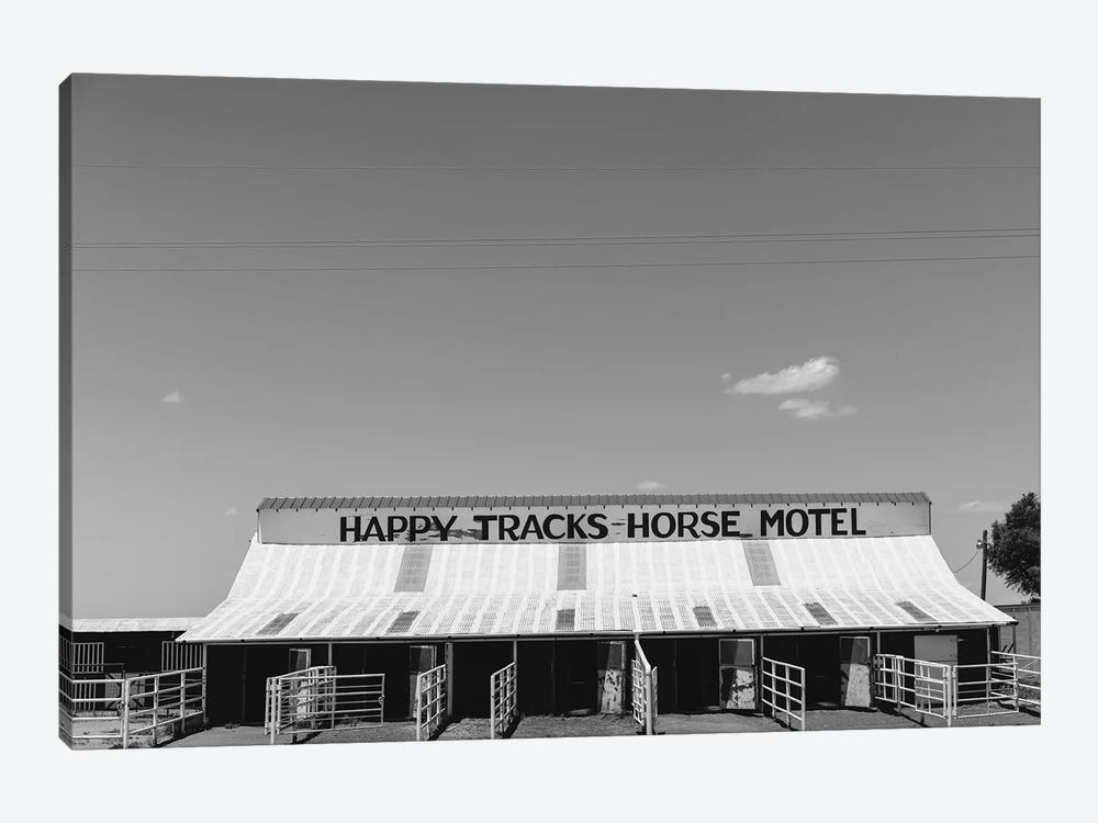 Horse Motel by Bethany Young 1-piece Art Print