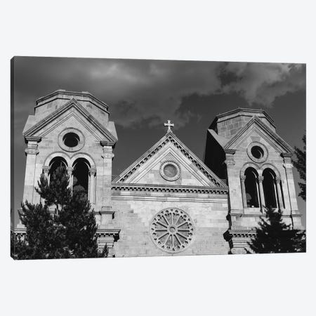 Cathedral Basilica Of St. Francis Of Assisi Canvas Print #BTY1415} by Bethany Young Art Print