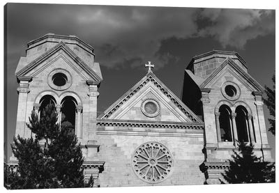 Cathedral Basilica Of St. Francis Of Assisi Canvas Art Print