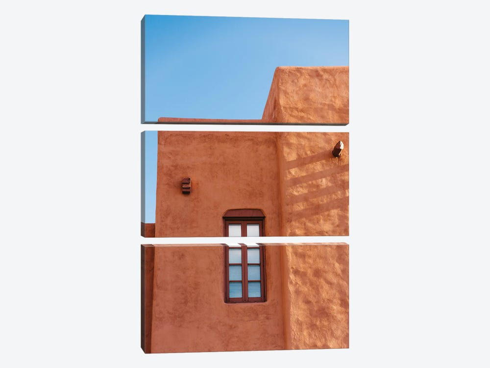 Santa Fe Architecture II by Bethany Young 3-piece Canvas Art Print