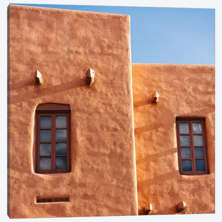 Santa Fe Architecture III Canvas Print #BTY1419} by Bethany Young Canvas Artwork