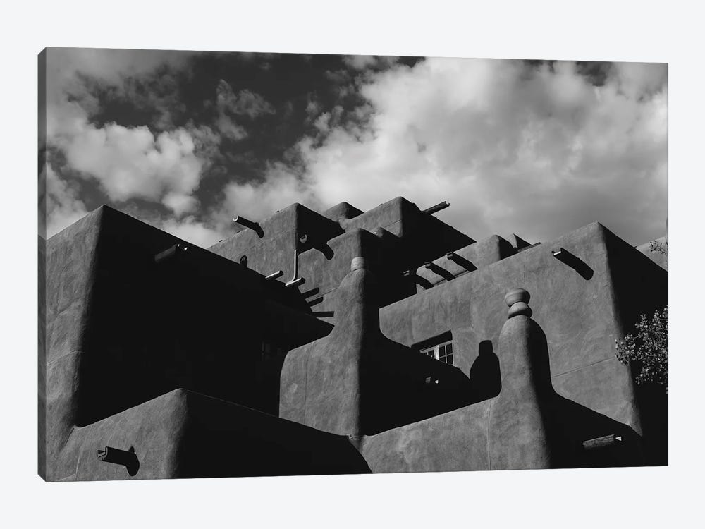 Santa Fe Architecture IX by Bethany Young 1-piece Canvas Print