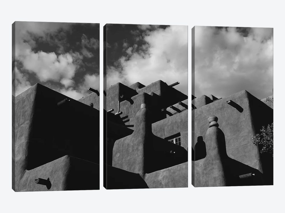 Santa Fe Architecture IX by Bethany Young 3-piece Art Print