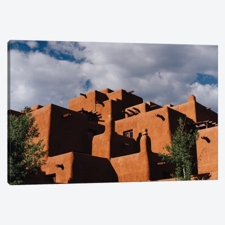 Santa Fe Architecture VIII Canvas Print #BTY1425} by Bethany Young Canvas Artwork