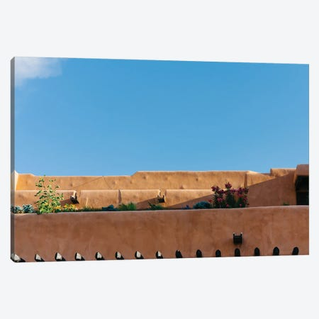 Santa Fe Architecture Canvas Print #BTY1433} by Bethany Young Canvas Art