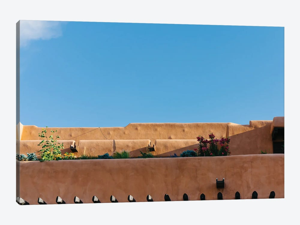 Santa Fe Architecture by Bethany Young 1-piece Canvas Art