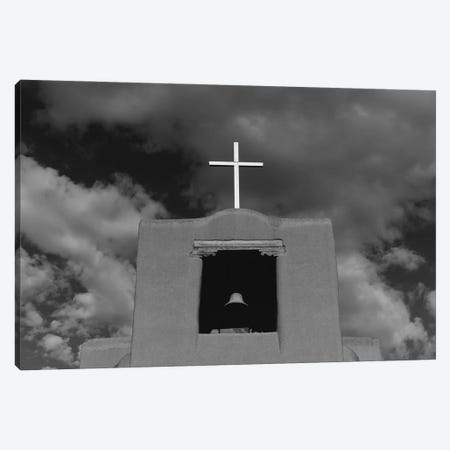 Santa Fe's San Miguel Chapel II Canvas Print #BTY1437} by Bethany Young Canvas Art Print
