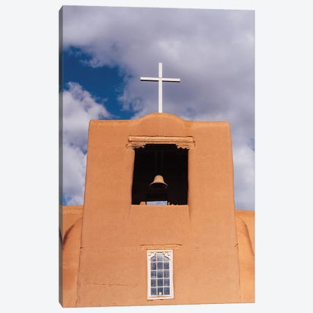 Santa Fe's San Miguel Chapel III Canvas Print #BTY1438} by Bethany Young Canvas Art