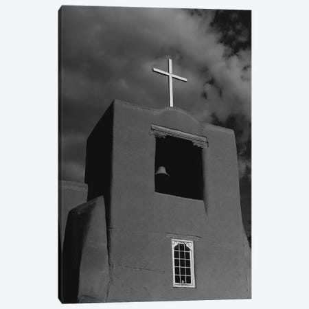 Santa Fe's San Miguel Chapel Canvas Print #BTY1439} by Bethany Young Canvas Art