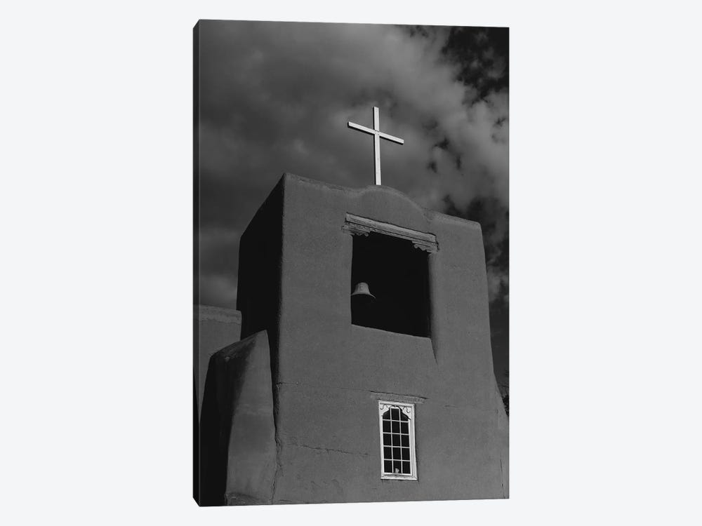 Santa Fe's San Miguel Chapel by Bethany Young 1-piece Canvas Wall Art
