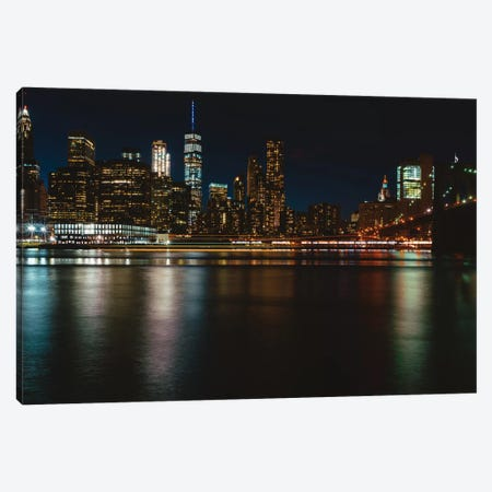 New York Lights IV Canvas Print #BTY143} by Bethany Young Canvas Wall Art