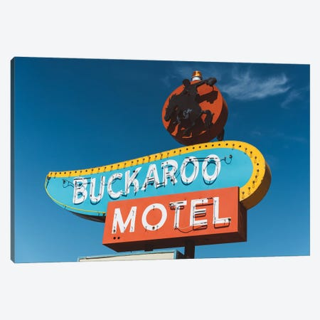 Buckaroo Motel Canvas Print #BTY1444} by Bethany Young Canvas Art