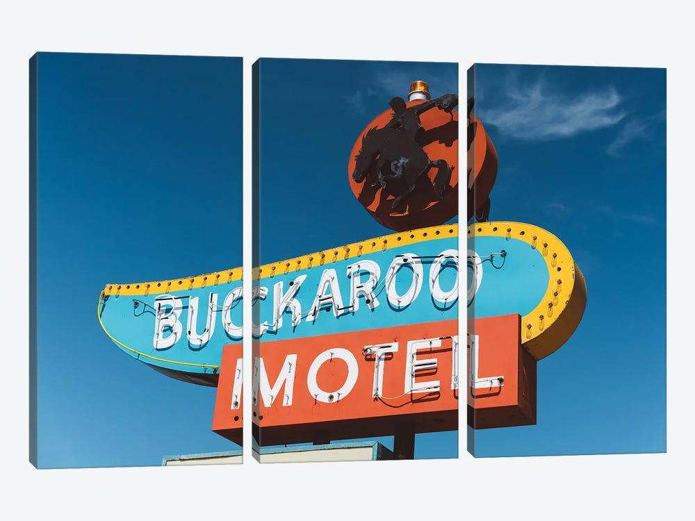 Buckaroo Motel by Bethany Young 3-piece Canvas Wall Art