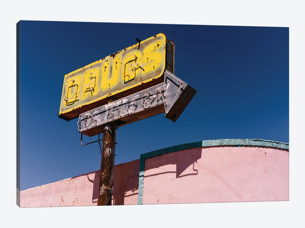 New Mexico Drugs by Bethany Young 1-piece Canvas Wall Art