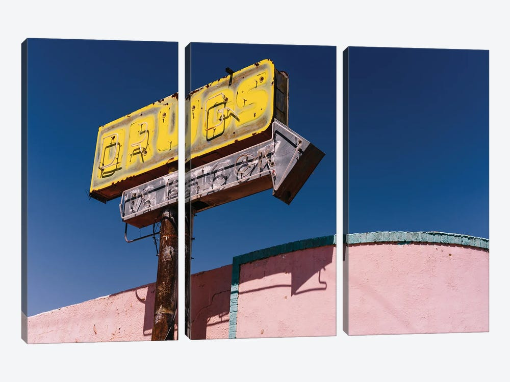 New Mexico Drugs by Bethany Young 3-piece Canvas Art