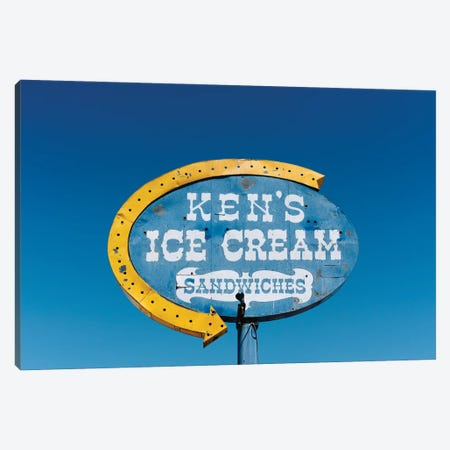 New Mexico Ice Cream Canvas Print #BTY1450} by Bethany Young Canvas Artwork