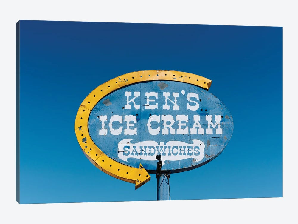 New Mexico Ice Cream by Bethany Young 1-piece Canvas Art Print