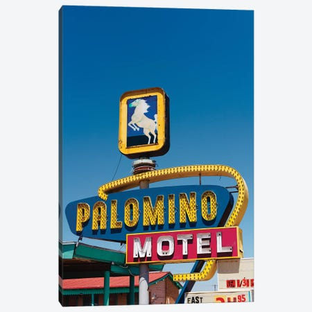 Palomino Motel II Canvas Print #BTY1452} by Bethany Young Canvas Art