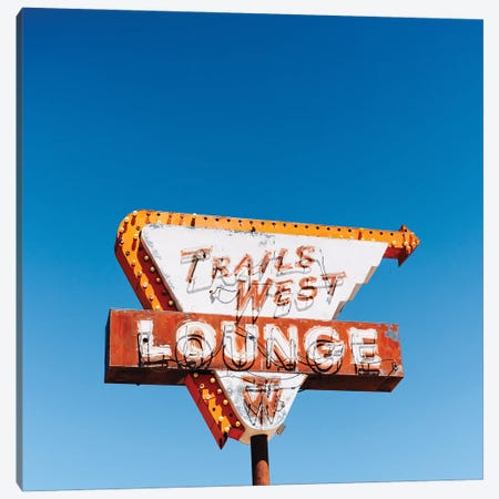 Trails West Lounge Canvas Print #BTY1455} by Bethany Young Art Print