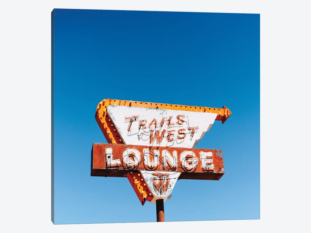 Trails West Lounge by Bethany Young 1-piece Canvas Wall Art