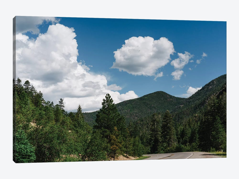 Enchanted Circle Scenic Byway by Bethany Young 1-piece Canvas Art