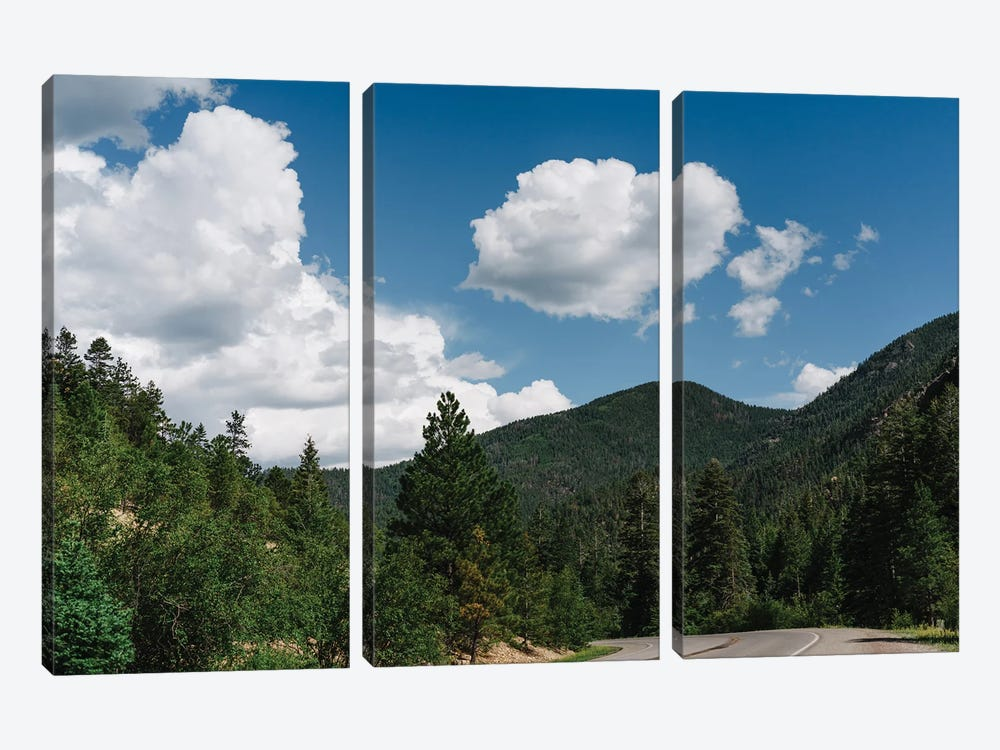 Enchanted Circle Scenic Byway by Bethany Young 3-piece Canvas Art