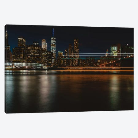 New York Lights III Canvas Print #BTY145} by Bethany Young Canvas Art Print